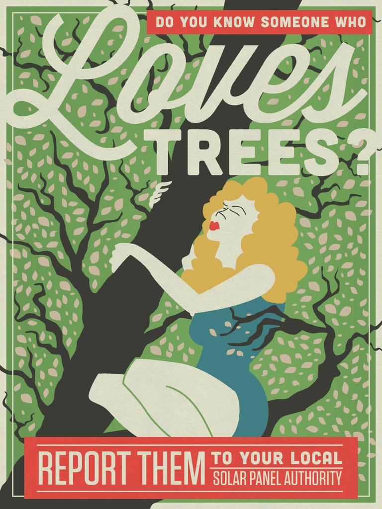 love trees? youre in trouble