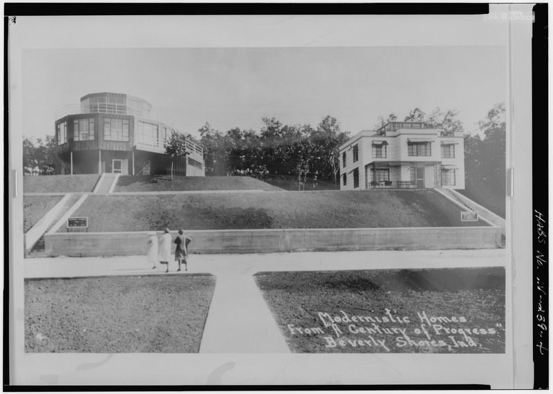 House of Tomorrow and Armco-Ferro House, Beverly Shores, Indiana