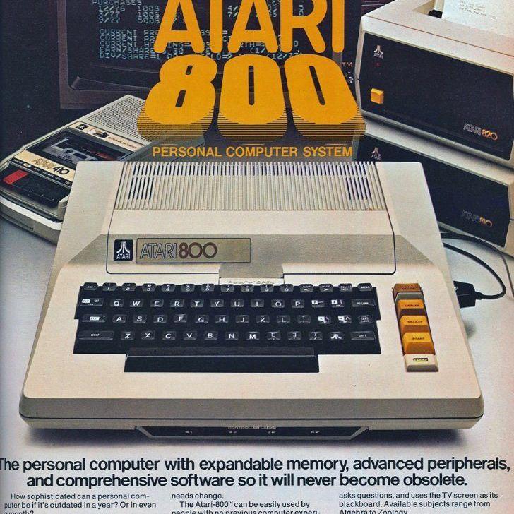 Atari 800 ad