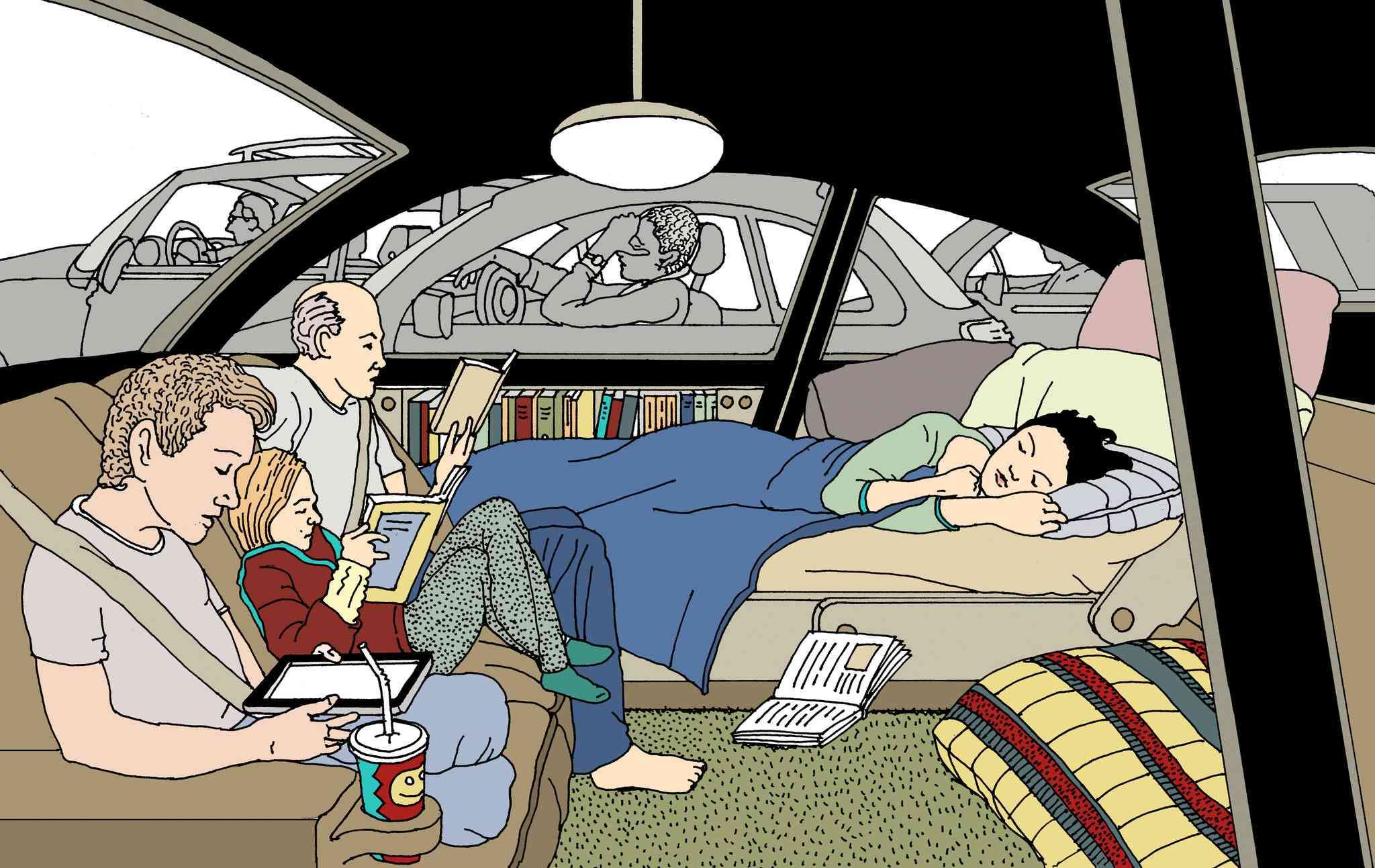 Car as living room