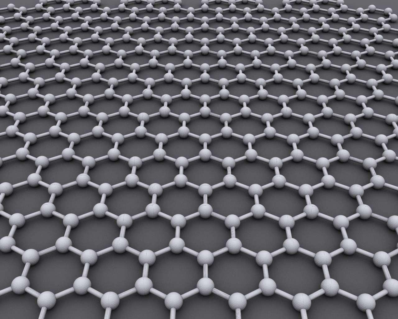 hexagonal graphene lattice