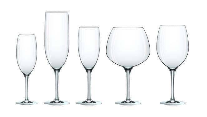 ¿Cuál es la ciencia detrás de las formas de las copas de vino?