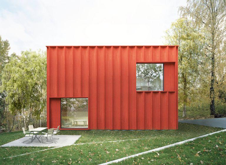 El diseño de una casa sueca se basa en datos (y es pequeño y moderno)