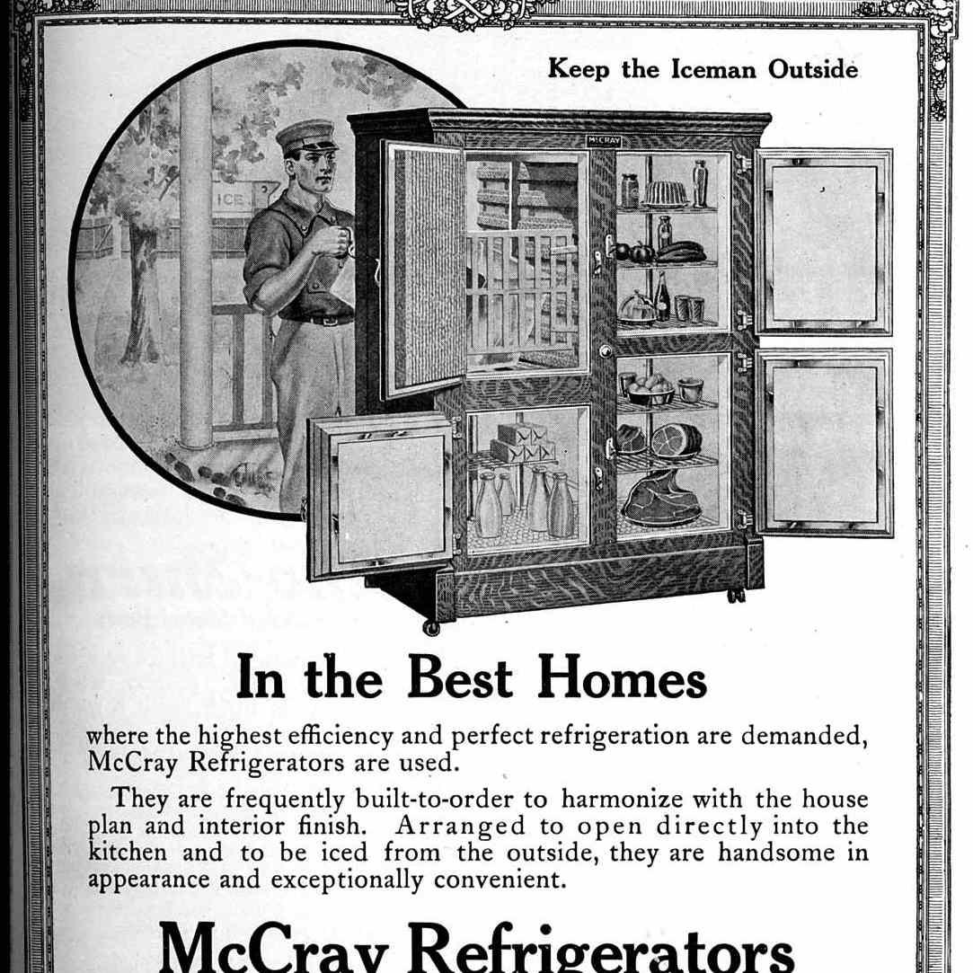 Mccray fridge