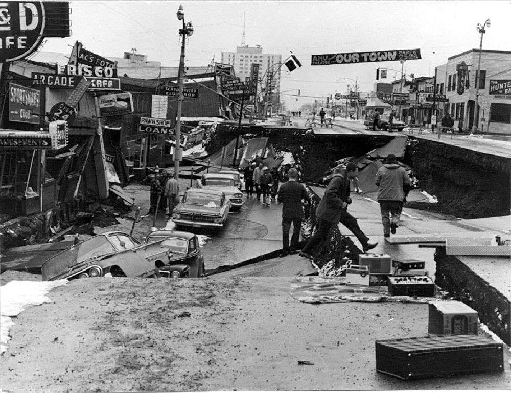 Alaskan Earthquake 1964