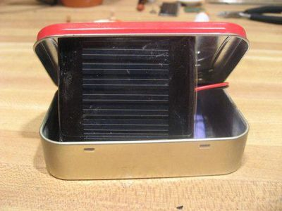 aa solar charger photo