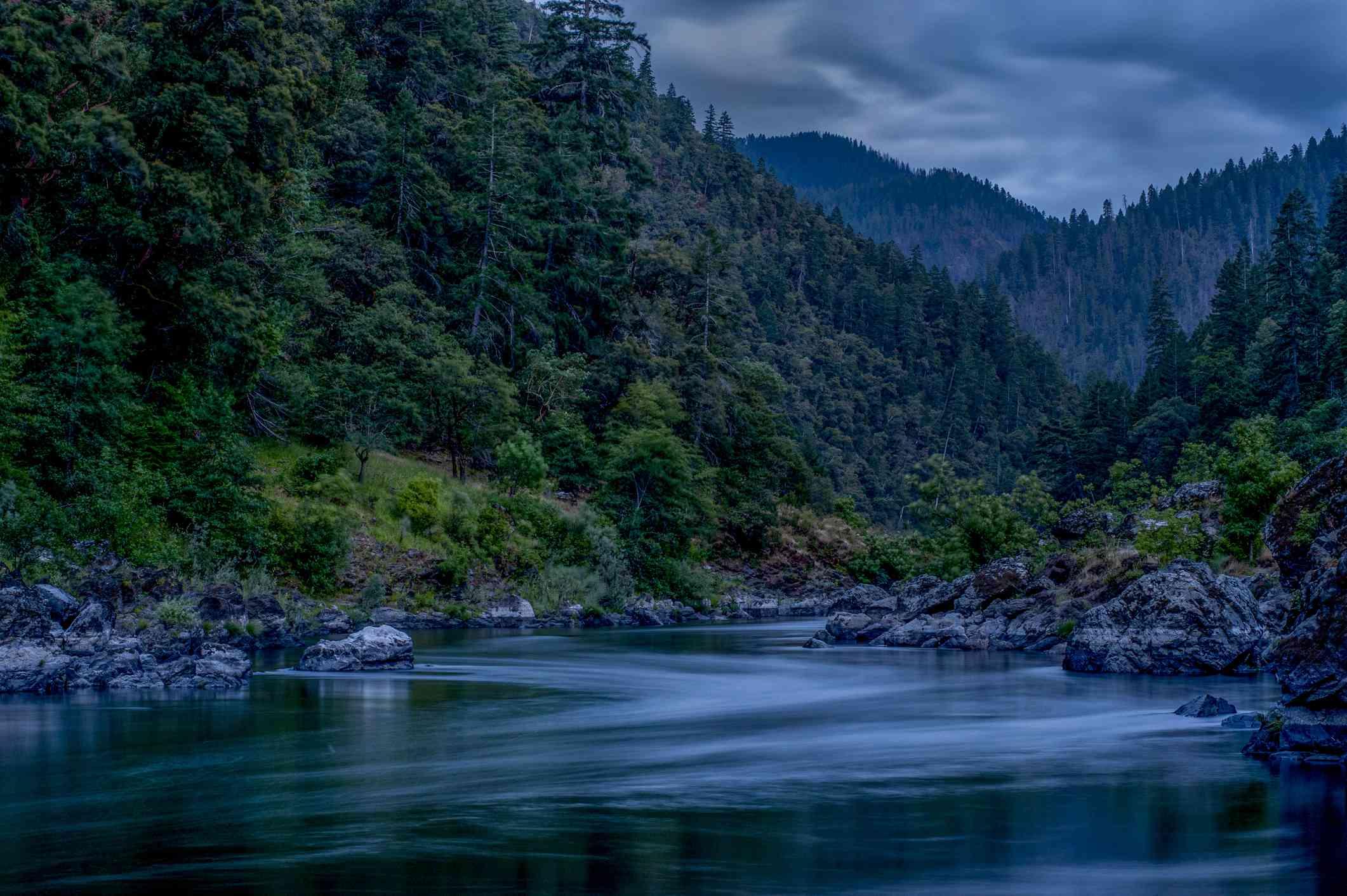 Rogue River, Oregon, Dusk