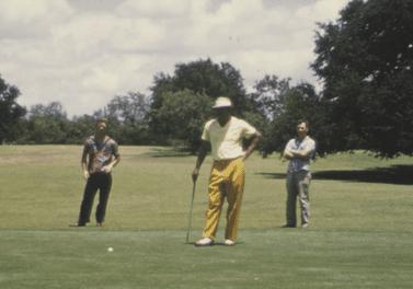 Joe Louis at Lions Municipal Golf Course, Austin