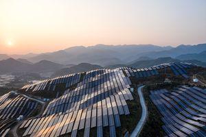 solar panels in Fujian