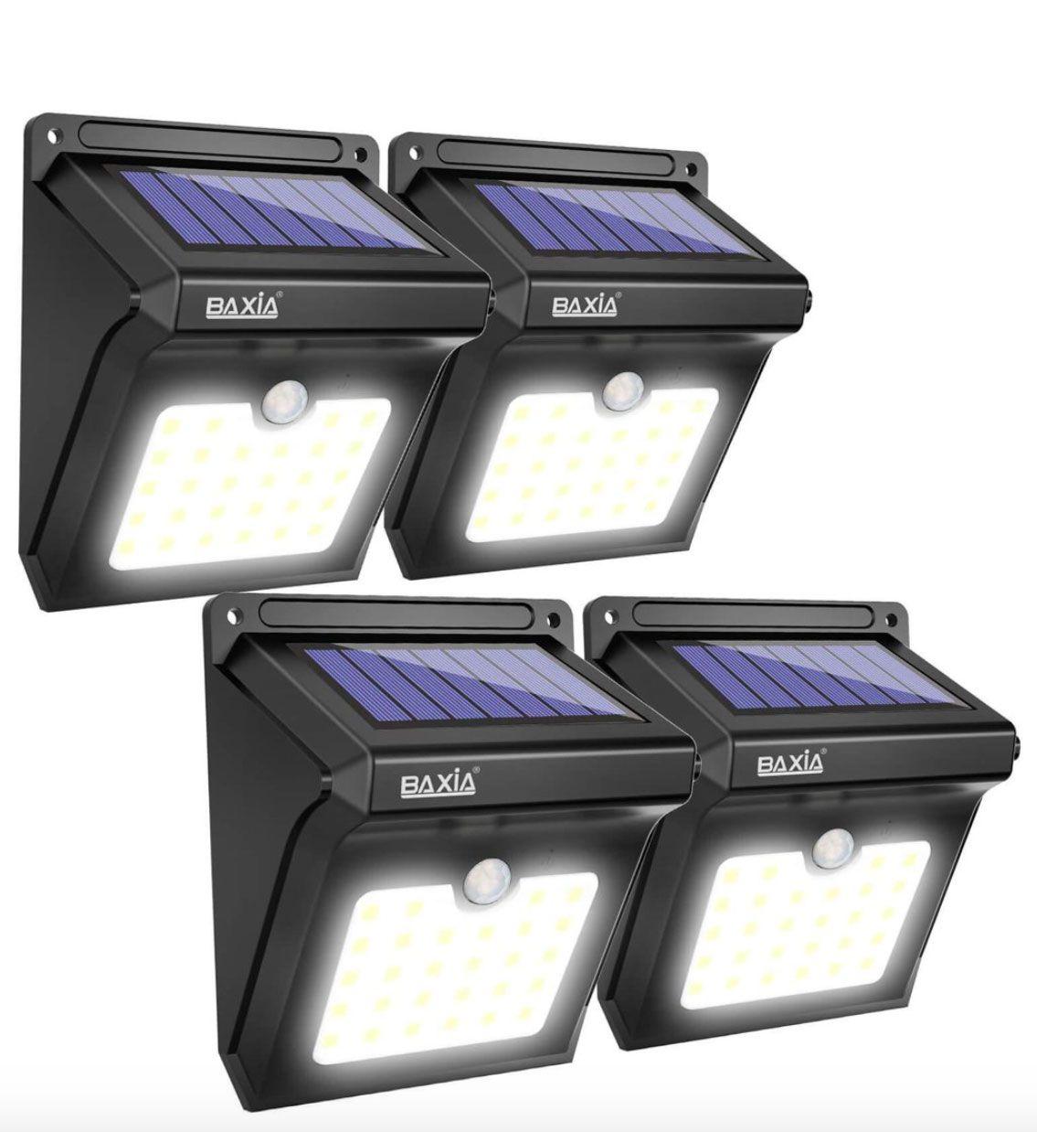 Baxia Motion Sensor Solar Lights