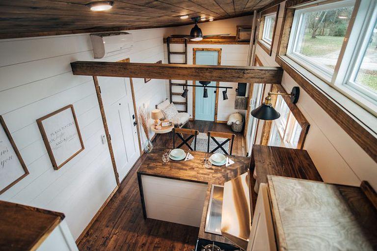 La lujosa casa Lupin Tiny cuenta con una gran cocina para chefs