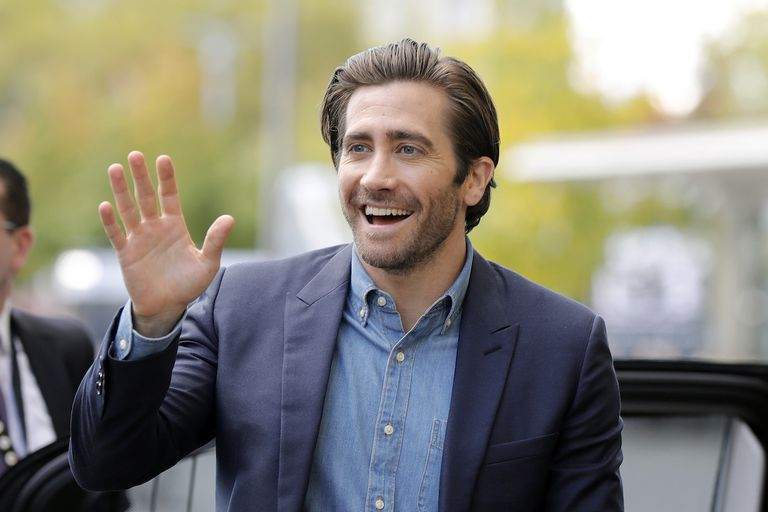Jake Gyllenhaal arrives at the 'Stronger' press conference during the 13th Zurich Film Festival on October 3, 2017 in Zurich, Switzerland. The Zurich Film Festival 2017 will take place from September 28 until October 8.