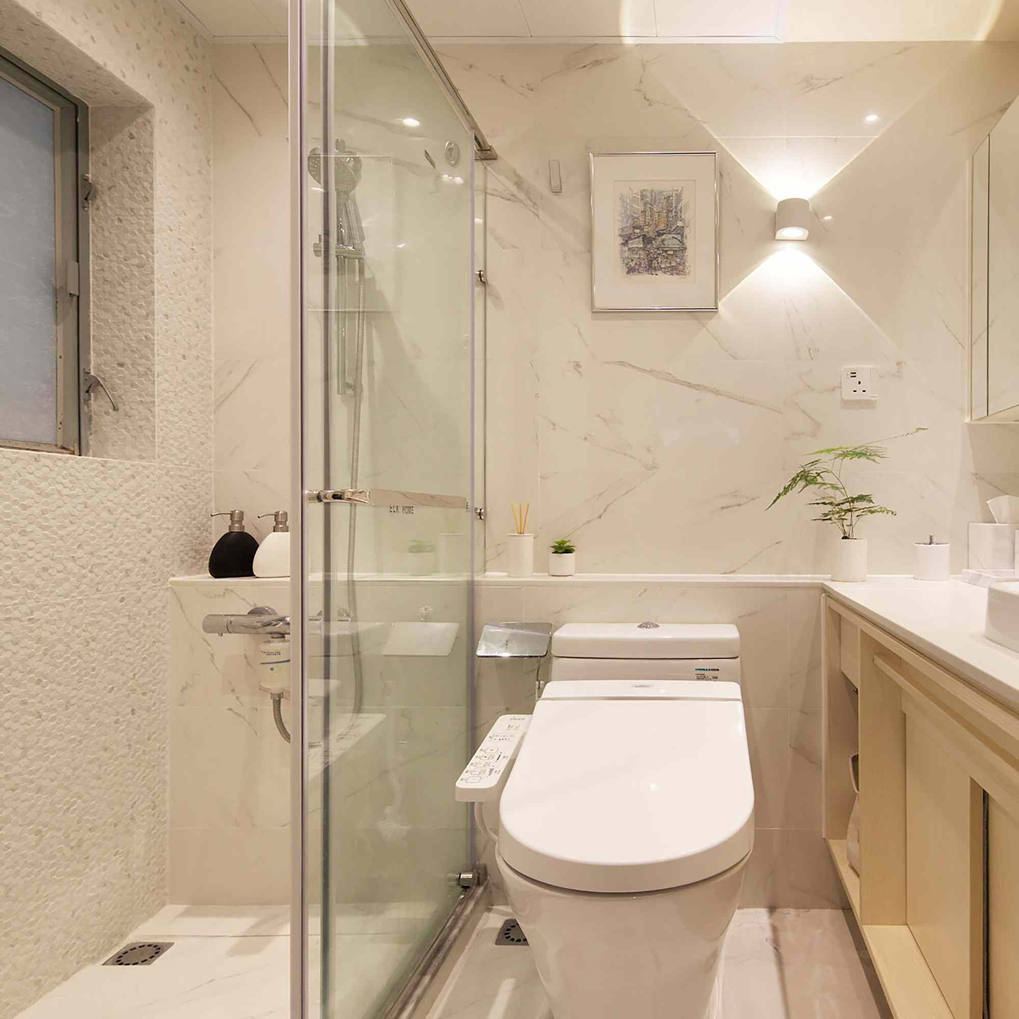 Smart Zendo micro-apartment by Sim-Plex Design Studio bathroom