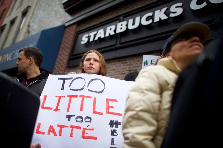 Starbucks no debería ser el baño de Estados Unidos