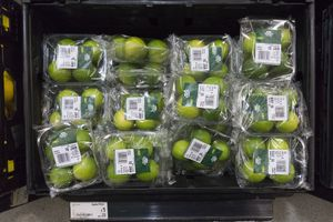 Plastic-wrapped LImes