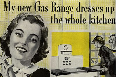 Old gas stove ad