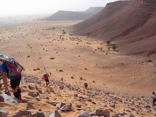 Marathon des Sables in Morocco