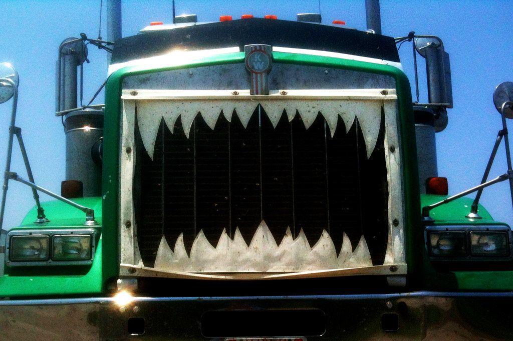 Diesel truck photo