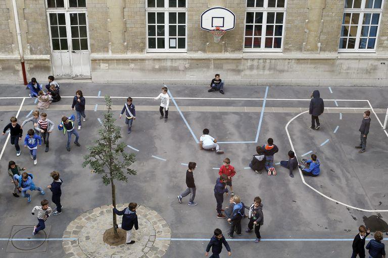 Cómo volver verdes los patios escolares grises podría ayudar a las ciudades a refrescarse