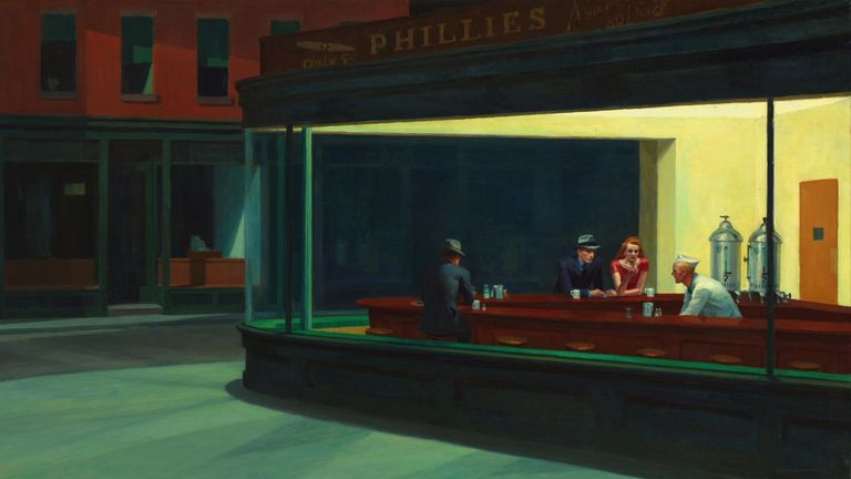 Edward Hopper's 'Nighthawks' painting