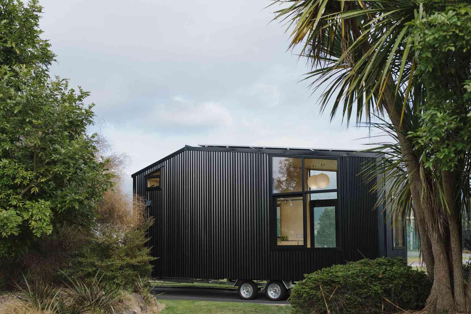 Ohariu tiny house by First Light Studio and Build Tiny exterior