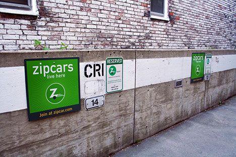 zipcar car sharing parking photo