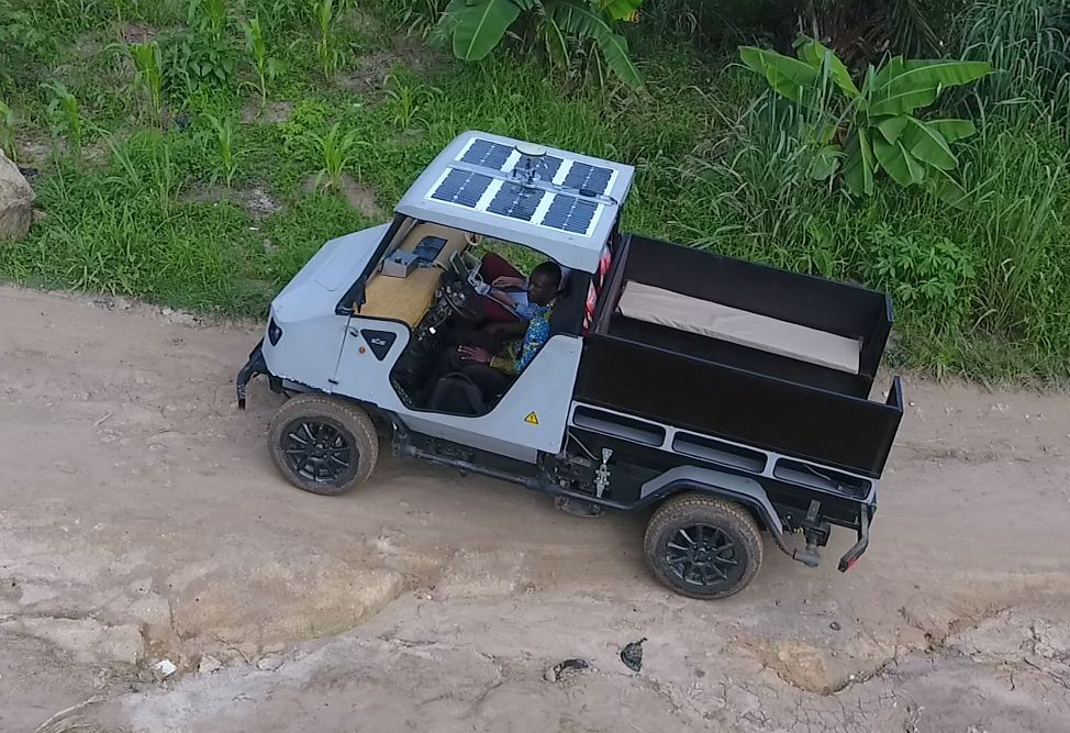 The All-Wheel-Drive Electric aCar Is Designed for Rural Mobility in the Developing World