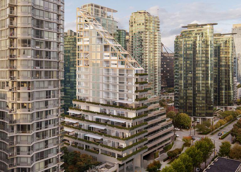 Terrace House para ser la torre de madera más alta