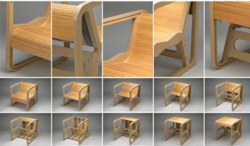 Mogga convertible table / chair