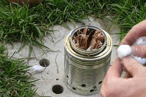 wood gasifier lighting