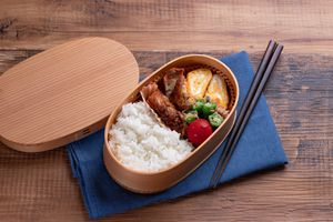 Lunch in a bento box