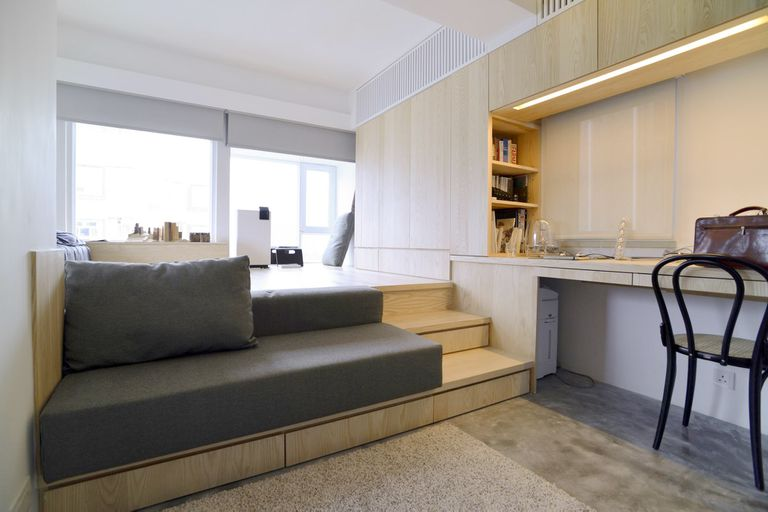 micro apartment renovation Design Eight Five Two interior