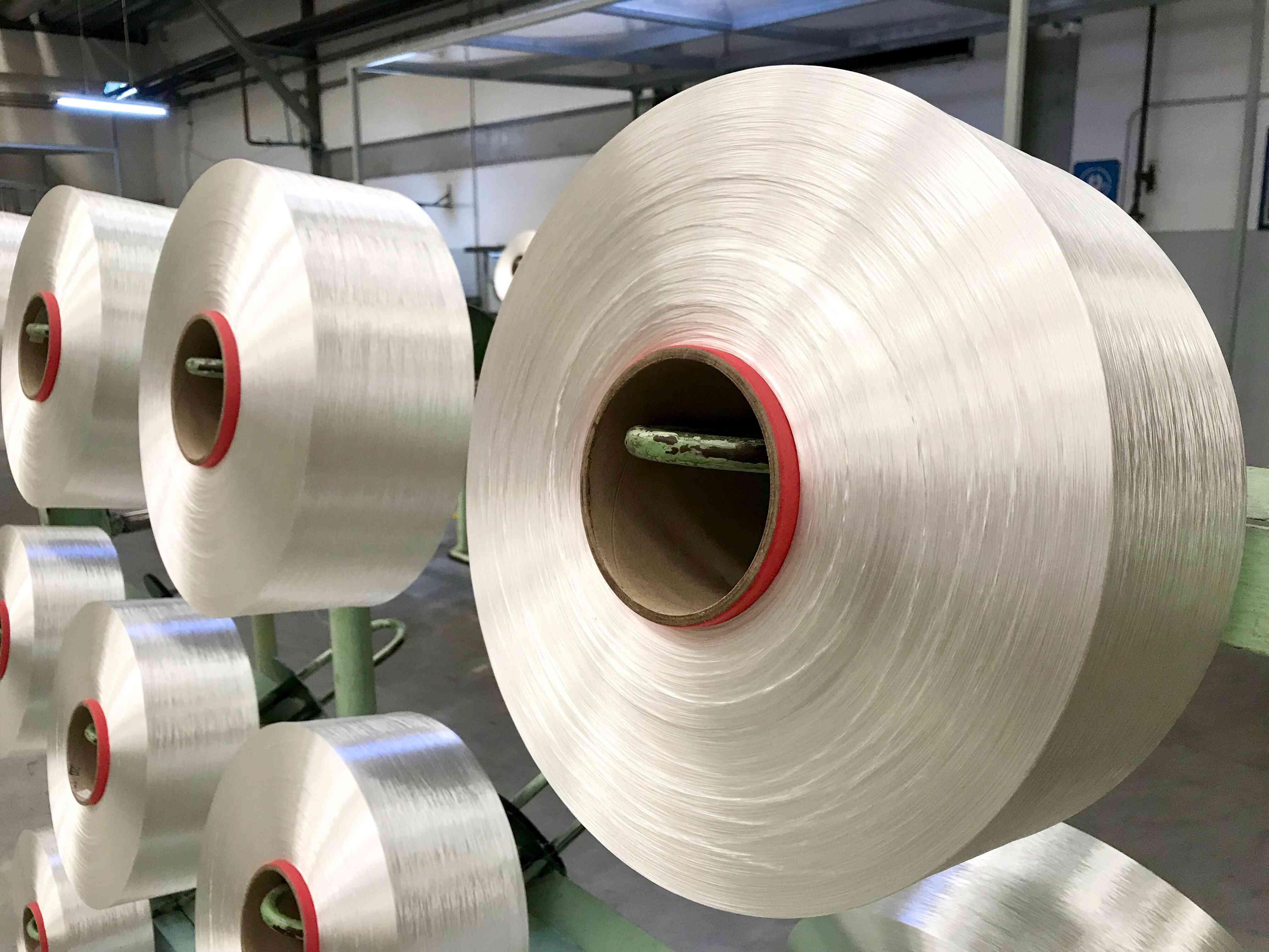 Polyester Filament Yarn spool, PET fiber Yarn, spun polyester sewing thread