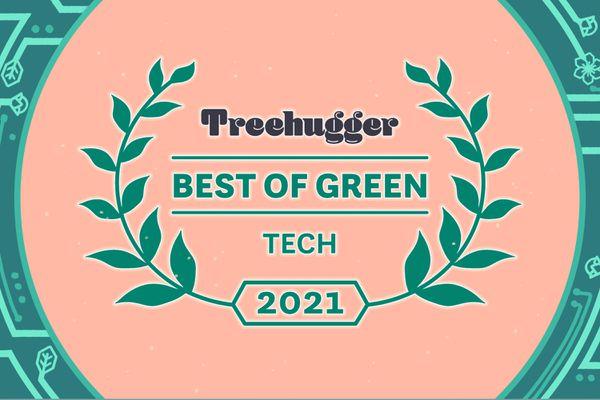 Best of Green tech award seal