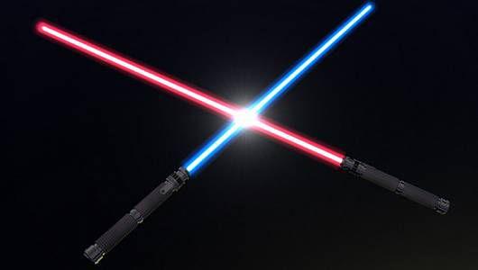 Los sables de luz podrían convertirse en realidad después de un increíble avance en la física