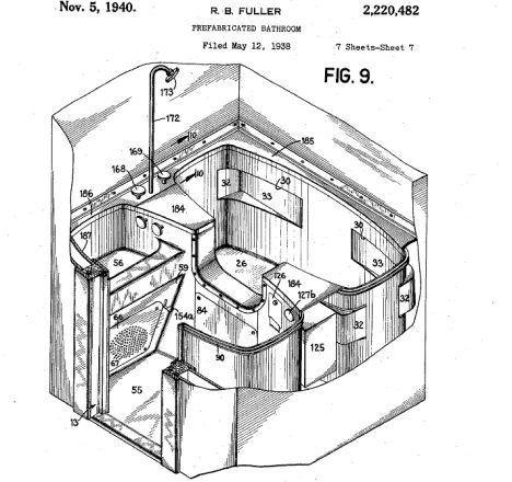 fuller prefabricated toilet image