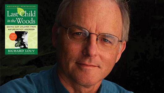 Cómo el autor Richard Louv saca a los niños al aire libre