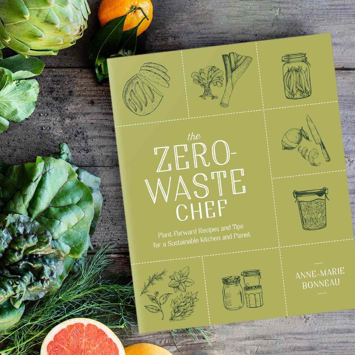 zero waste chef cookbook cover
