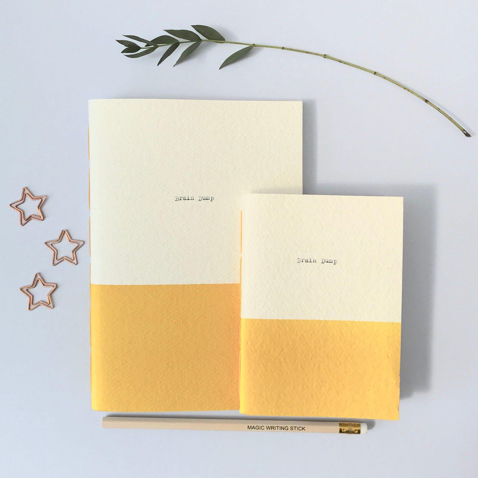 Blue Stiggy Personalised Eco friendly Notebook