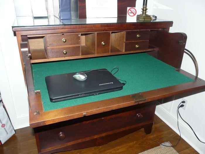 transformer desk face up