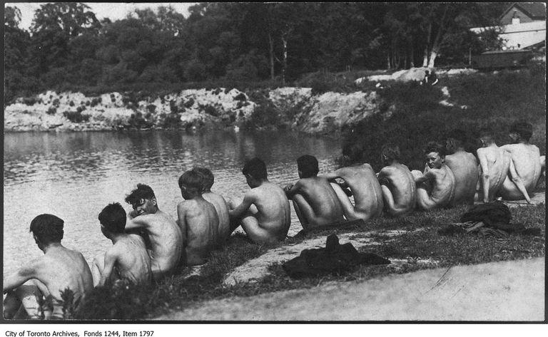 La natación urbana se está volviendo una cosa de nuevo