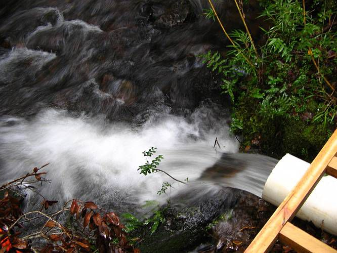 Microhydro photos running water