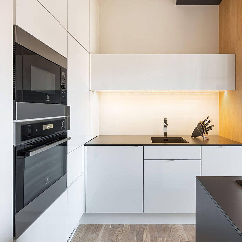 man's lair micro apartment boq architekti