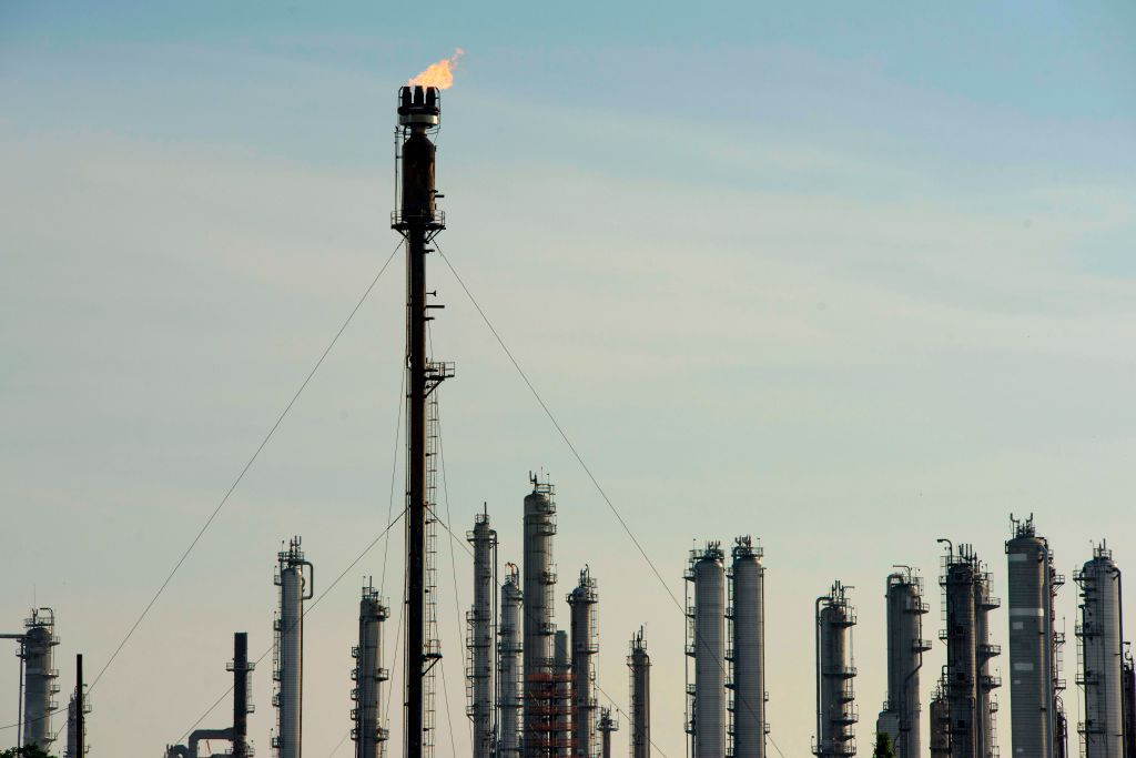 petrochemical plant in Houston
