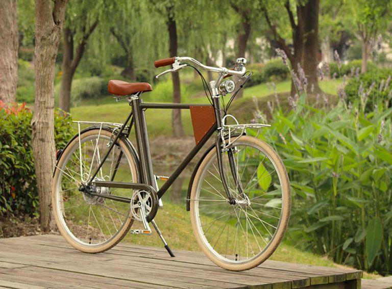 Vela es una bicicleta eléctrica de estilo crucero clásico (video)