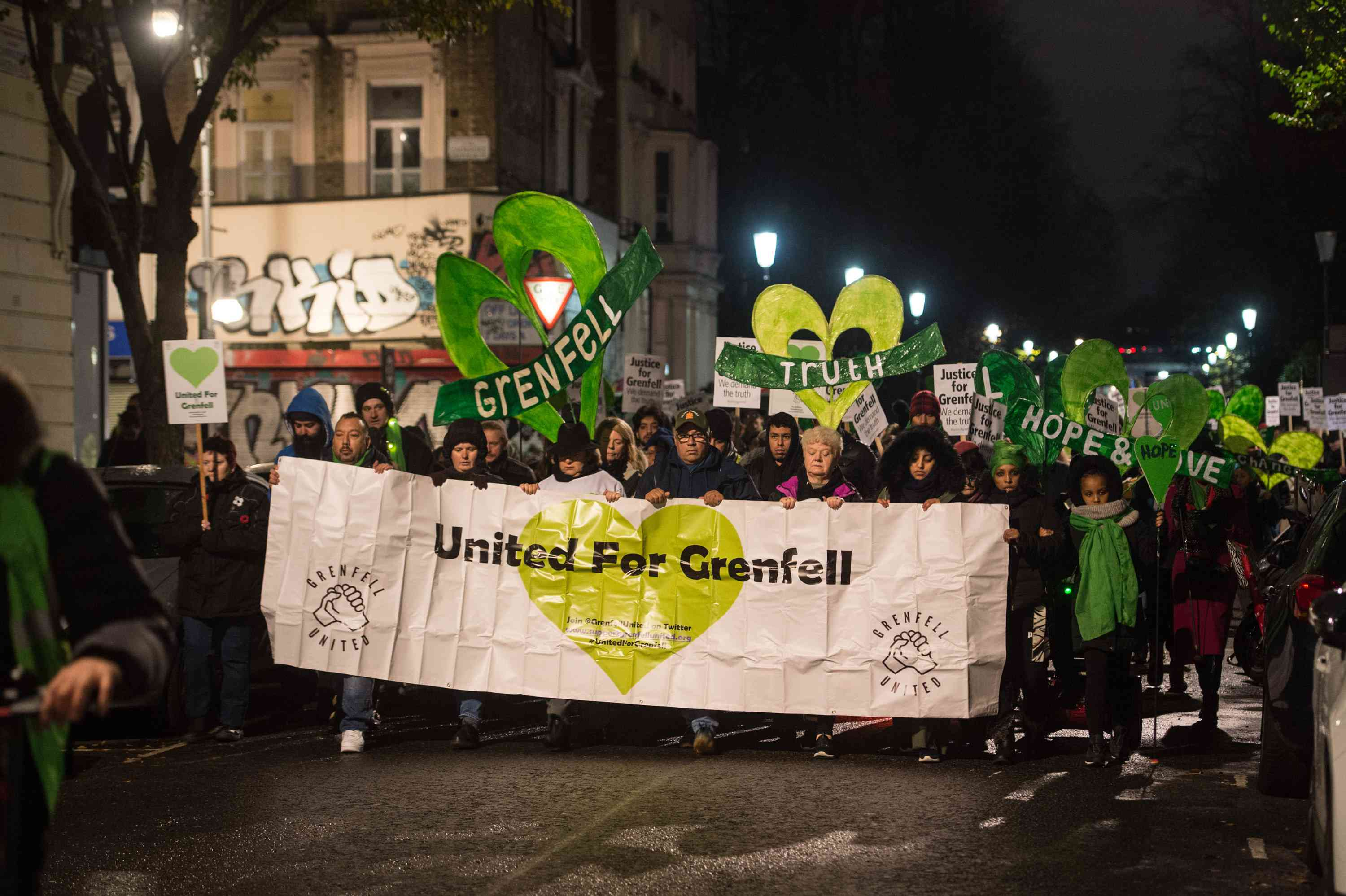 Grenfell monthly march