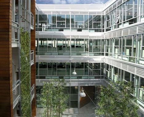 thomas building interior courtyard photo