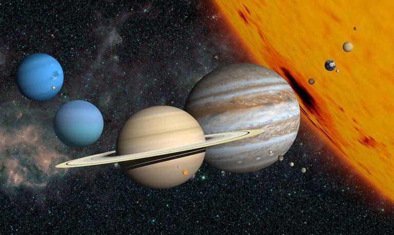 Imagina cómo se ve el sol desde otros planetas