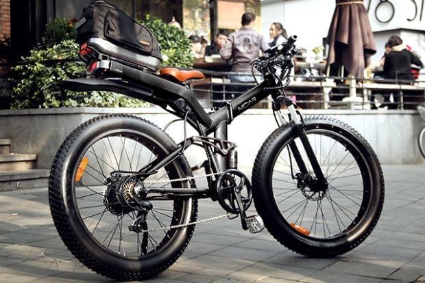 MOAR folding fat tire e-bike