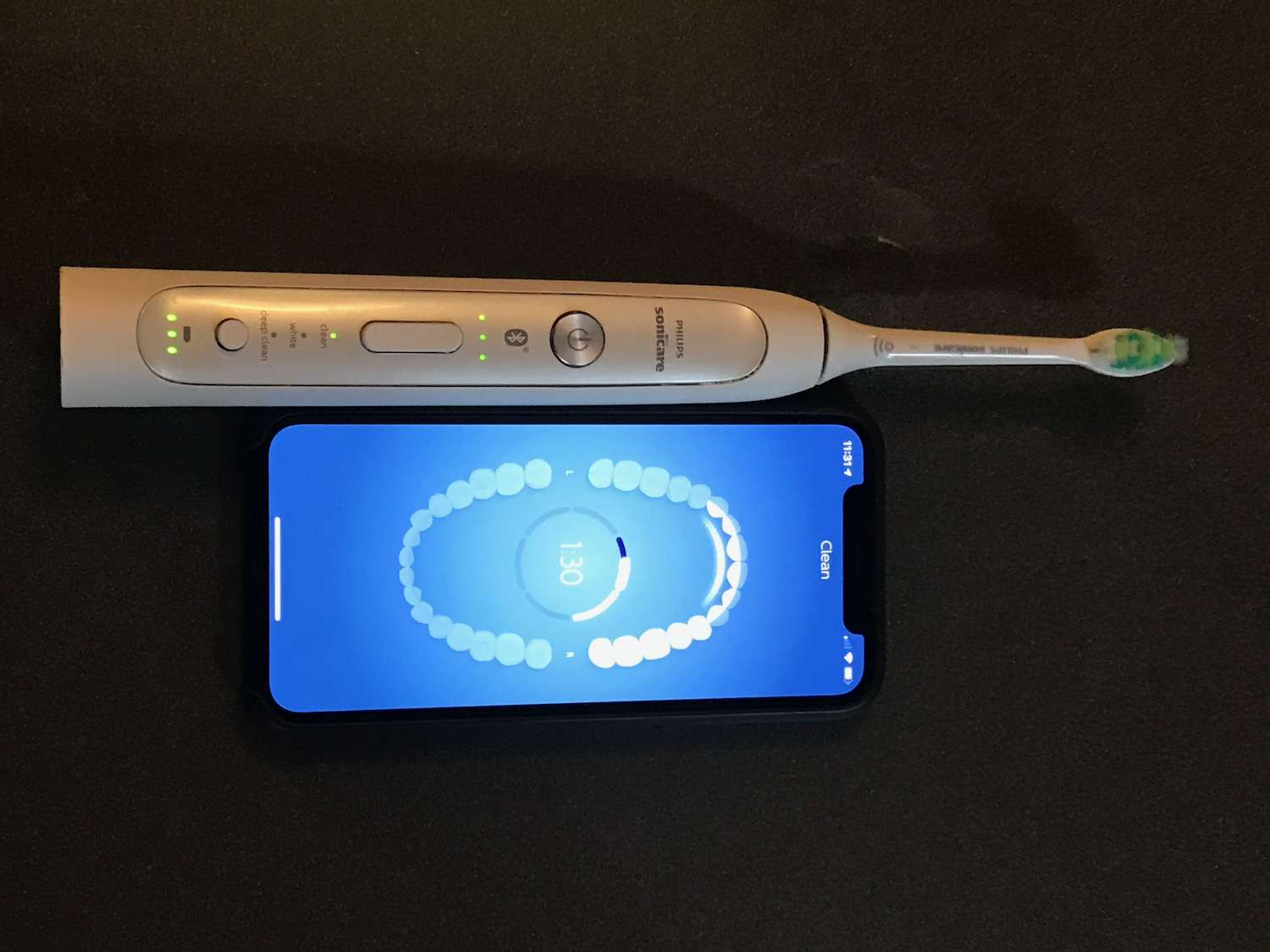 Connected toothbrush
